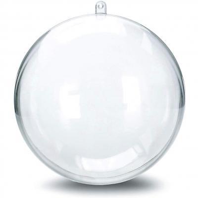 Lilitrade 20 Pcs Bola De Navidad Transparente