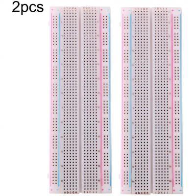 Fularr 2pcs Premium 830 Puntos Breadboard