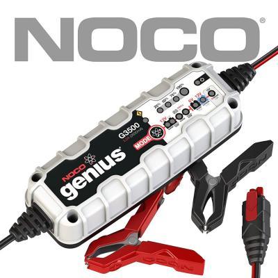NOCO Genius G3500EU 6V  12V 3.5 Amp Cargador de batería inteligente y mantenedor para auto