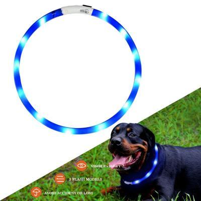Kabb Collar De Perro De Seguridad Led Intermitente Collar Con Usb