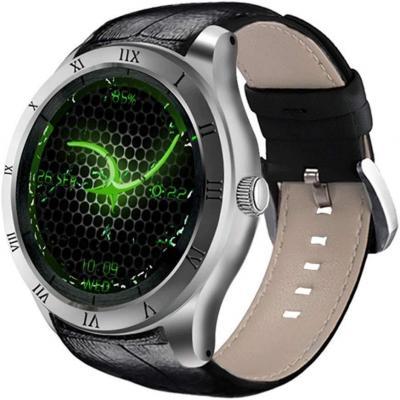 DI05 Smart Watch WiFi GPS MTK6580 Bluetooth 4.0 512MB + 8GB Soporte 3G Nano SIM Card 1.39 Pulgadas AMOLED Smart Watch PK K88H