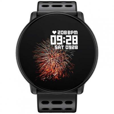 Azorex SmartWatch Multifunción Reloj Inteligente Redondo Deportivo Impermeable IP67