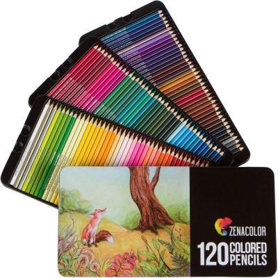 30 Lápices de terapia de color de calidad de artistas Colorante en color de estaño