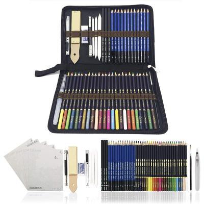 Lapiceros ergon/ómicos pre afilados ARTEZA L/ápices de acuarela con forma triangular 48 colores diferentes Pack de 48 l/ápices acuarelables