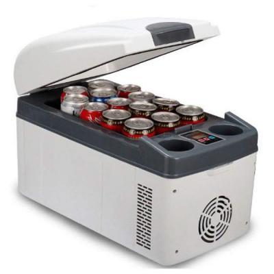 A-Nice Mini-refrigerador 20L Dual-Core Minibar del Hotel Refrigerador de la Mesa Refrigerador de la Cerveza Refrigerador de Agua Refrigerador de Vino para la Tabla de la Cocina la Oficina