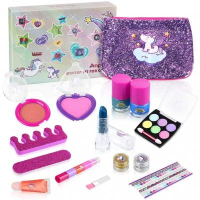 Anpro 15pcs Kit de Maquillaje Niñas