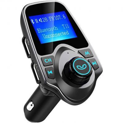 manos libres,con puertos doble usb y tarjeta Micro SD carga r/ápida inteligente 5V 3.1A y 1.0A Compatible Androides iPhone GRK Nuevo Transmisor FM Multi Funci/ón Bluetooth V4.0 Radio inal/ámbrico