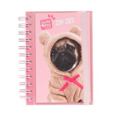 Agenda escolar 2021 2021 día página S Studio Pets Dogs