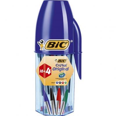 BIC Cristal Original bolígrafos punta media