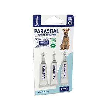 Parasital Pipetas Antiparasitarias para Perros Medianos de 10 a 25 kg