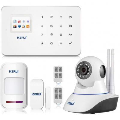 KERUI G18 APP Control Hogar del Alarma Sistema de Seguridad GSM Alarma Sensor de Ventana Puerta Magnético Inalámbrico