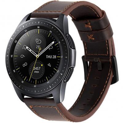 Ibazal Correas 20mm Cuero Piel Pulseras Bandas Compatible Con Samsung Galaxy Watch 42mm Active 40mm Huawei Watch 2 Gear S2 Classic
