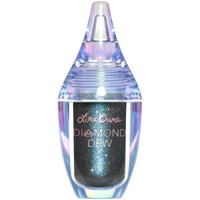(Dragon), Lime Crime Diamond Dew Glitter Eyeshadow (Dragon). Iridescent Lid Topper (Teal-Copper-Blue Shift 5ml).