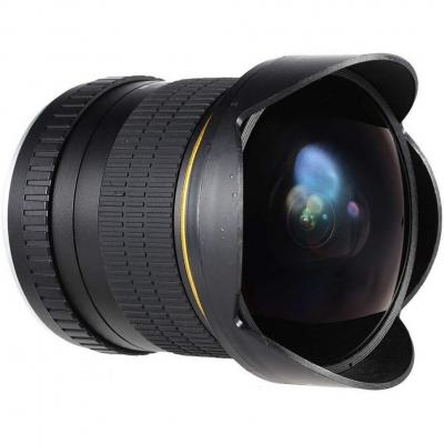Jintu Asférico Ultra Gran Angular 8 mm f 3